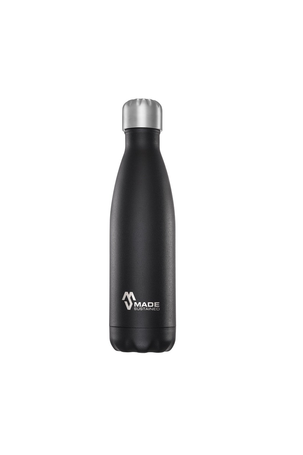 Made Sustained 500ml insulated Knight bottle Black Tie web