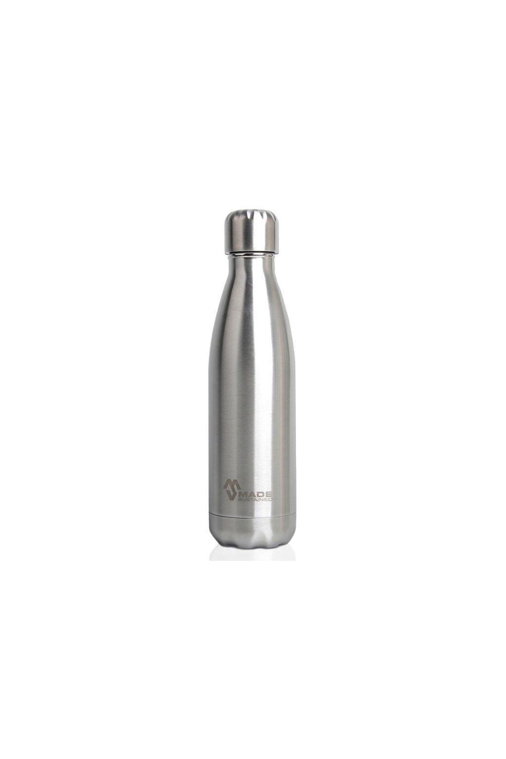 Celonerezová termoláhev Made Sustained Knight 500 ml Silver
