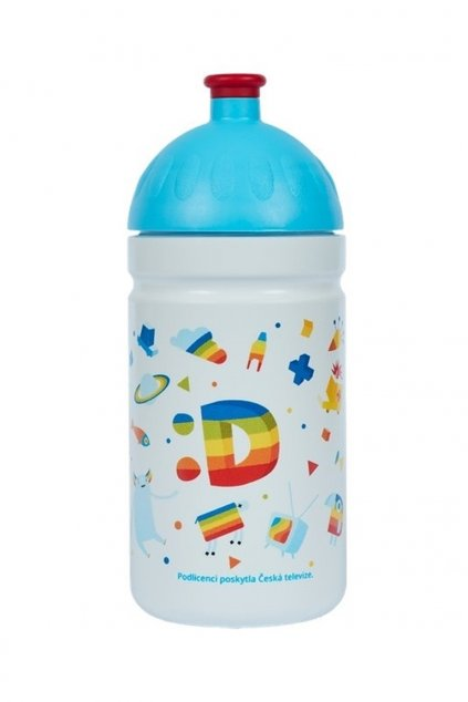 Zdravá láhev na pití pro deti 500 ml Déčko svet