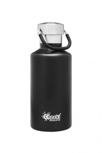 cheeki termolahev pro deti 400ml Insulated Classic černá black