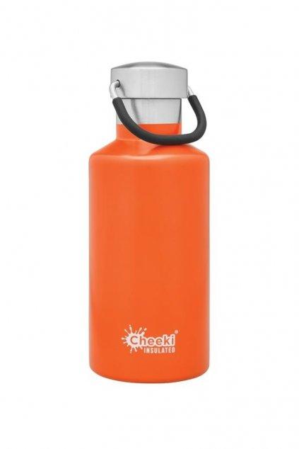 termo lahev pro deti cheeki 400 ml oranzova