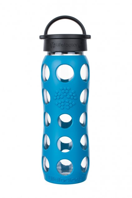 Eko lahev na vodu Lifeafctory 650 ml Teal lake