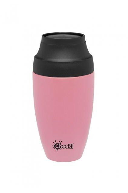 Termohrncek na kavu Cheeki 350 m pink