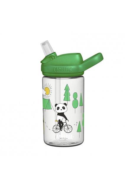 detska lahev na kolo eddy kids 400 ml playful pandas