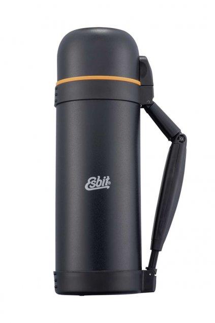 Kvalitná termoska Esbit 1,5L z nerezu čierna