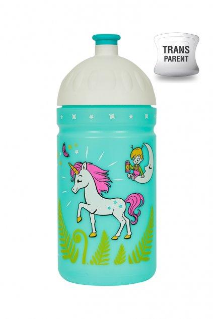 Zdrava lahev pro holku 500 ml Jednorozec