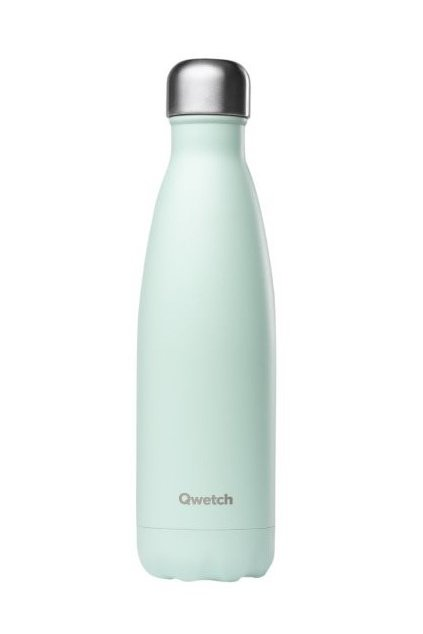 insulated stainless steel bottle mint pastel 500ml