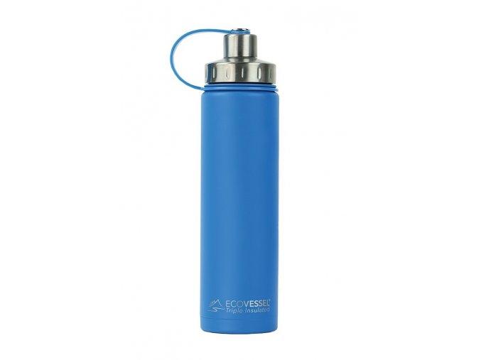 Nerezová termoláhev Eco Vessel 700 ml modrá