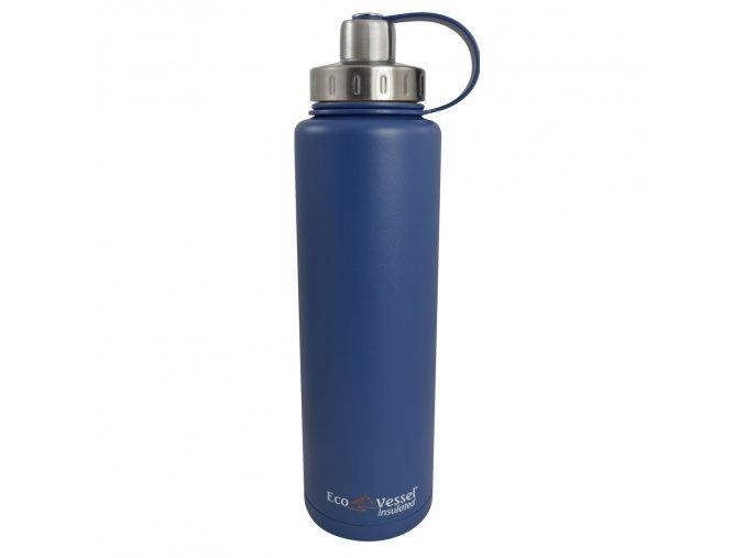 Termoláhev vákuová Eco Vessel 1300 ml modrá