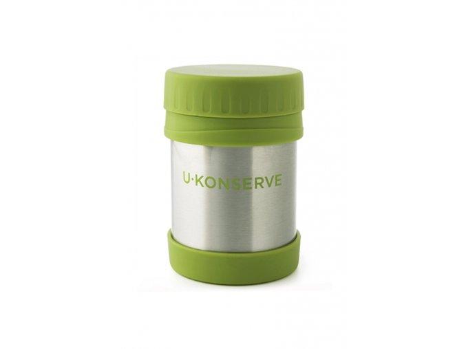 Termoska na jídlo pro děti Kids Konserve 355 ml - zelená