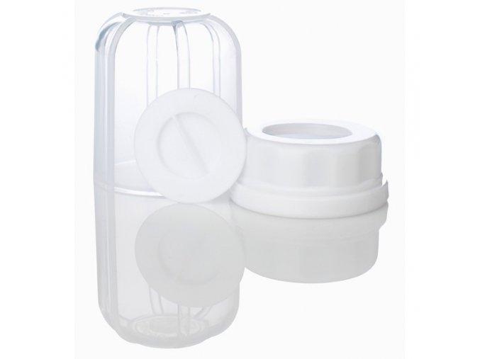 Náhradní kryt, objímka a uzávěr pro kojeneckou láhev Lifefactory
