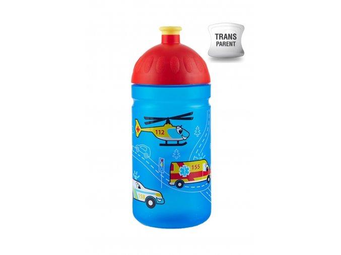 Zdravá fľaša detská 500 ml záchranári