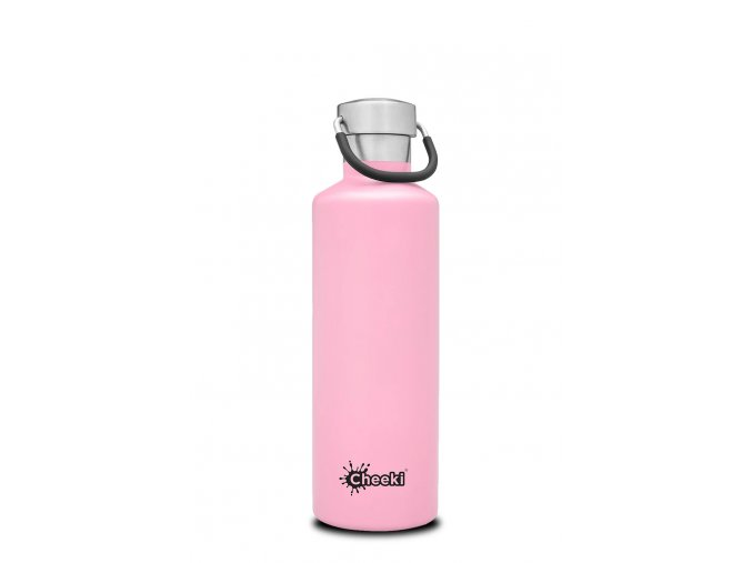 Termo lahev na kolo na vodu 600 ml Insulated Classic Dusty Pink