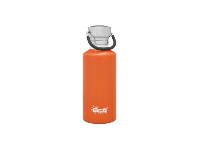 cheeki lahev na vodu 500 ml oranžová