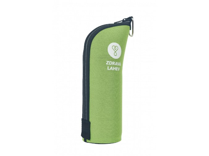 zdrava flasa termoobal 0,7 zeleny