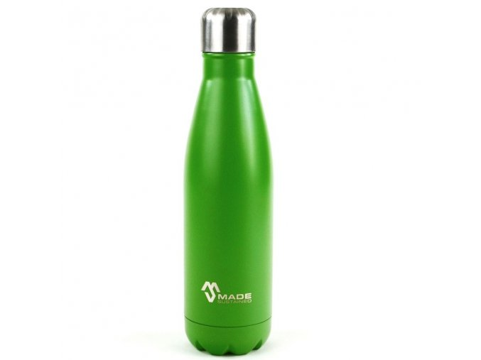 Made Sustained 500ml insulated Knight bottle grass