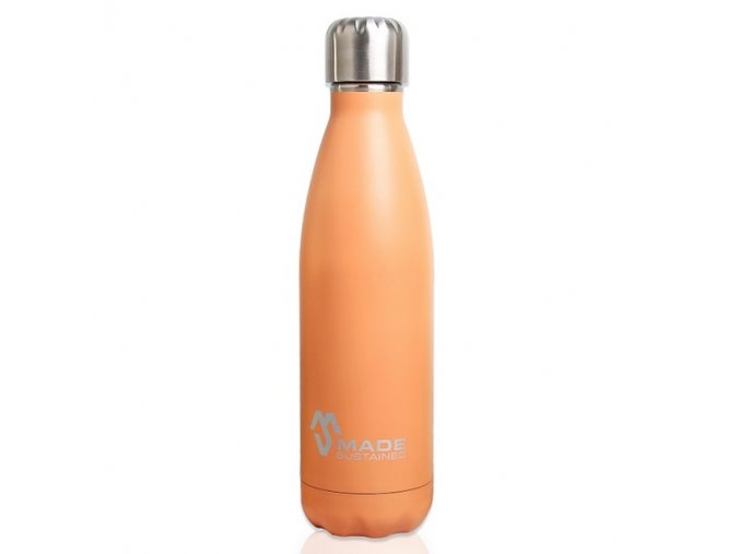 Celonerezová termoláhev Made Sustained Knight 500 ml Flamingo Orange