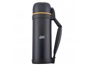 Veľká XL outdoor termoska na turistiku Esbit 2,1L s rúčkou čierna