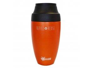 Cestovní termohrnek na kávu Cheeki Orange 350 ml