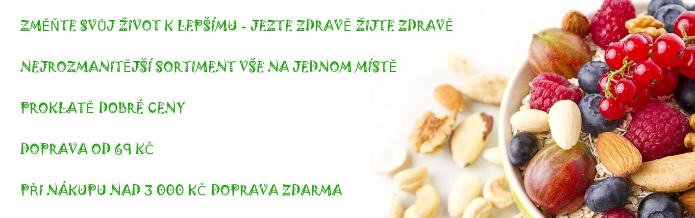 Zdravá výživa, vše na jednom místě - zdravelevne.cz