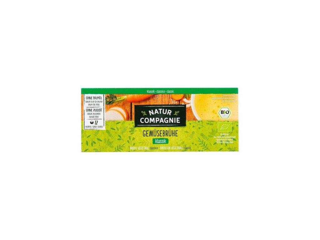 NATUR COMPAGNIE Bujon zeleninový kostky BIO 126 g