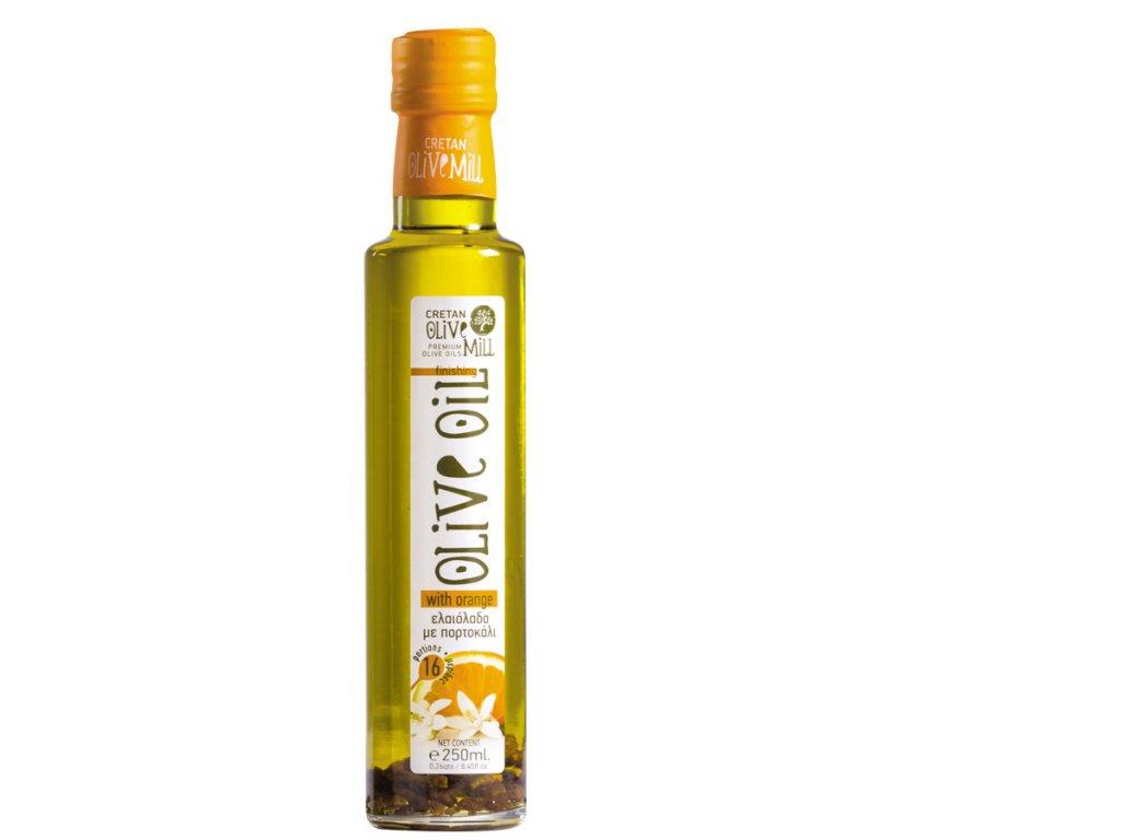 Extra panenský olivový olej s pomerančem 250 ml