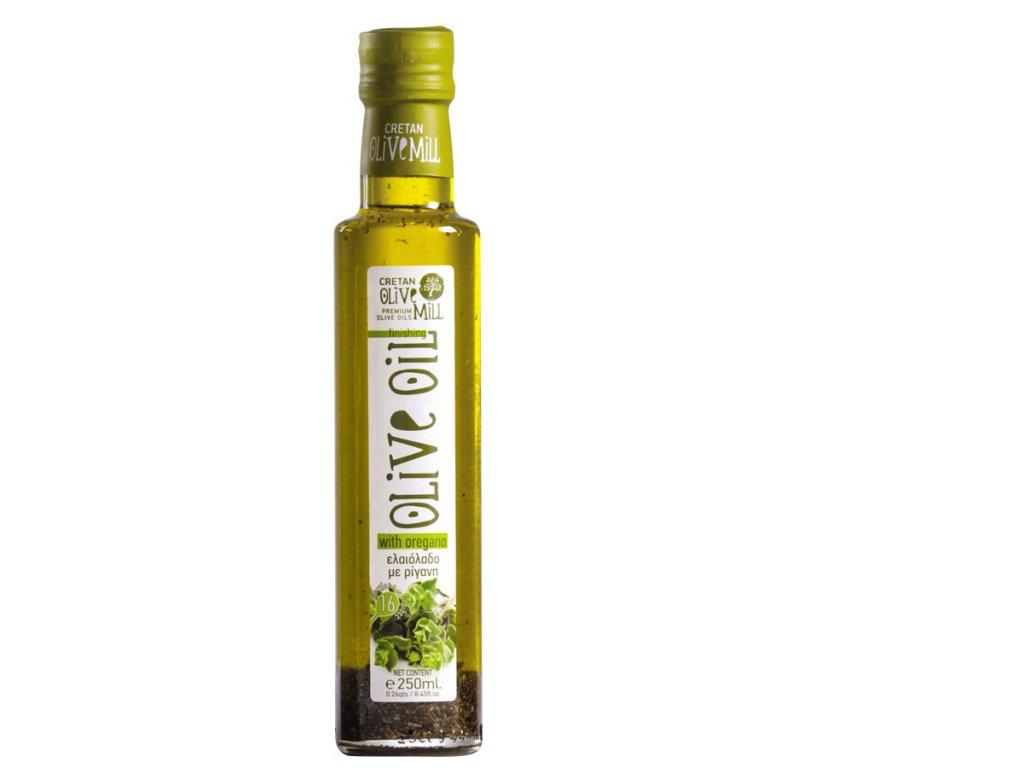 Extra panenský olivový olej s oregánem 250 ml