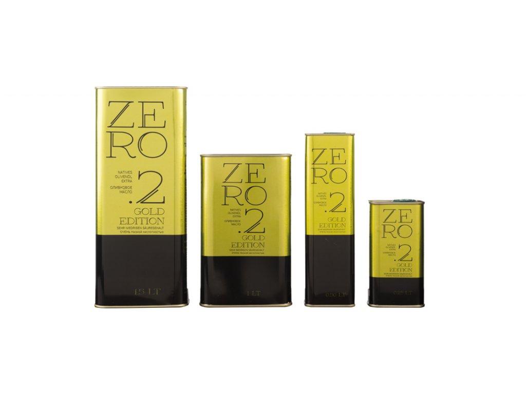 Extra panenský olivový olej zero gold