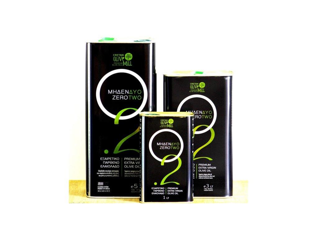 Extra panenský olivový olej zero two