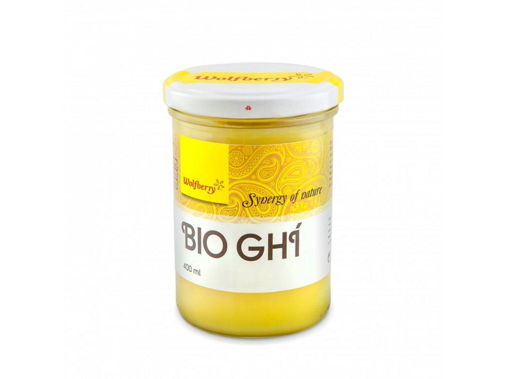 Wolfberry Ghí přepuštěné máslo BIO 400 ml