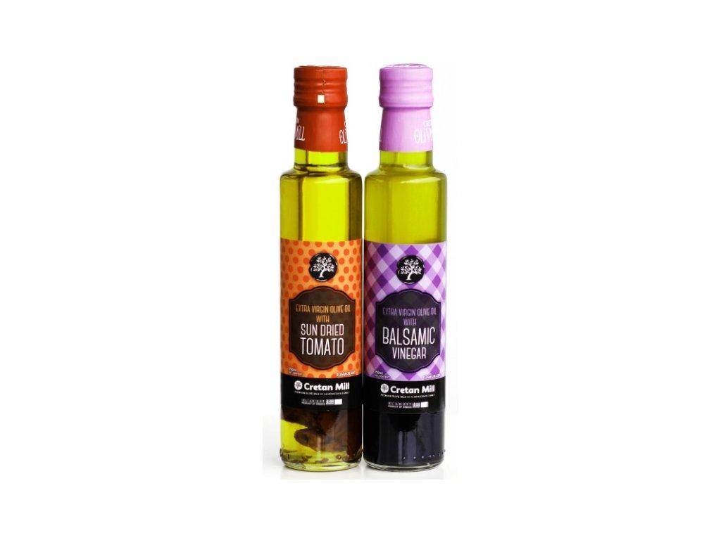 Extra panenský olivový olej se sušenými rajčaty 250 ml