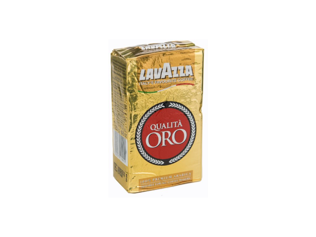Lavazza Qualita Oro mletá káva 250g