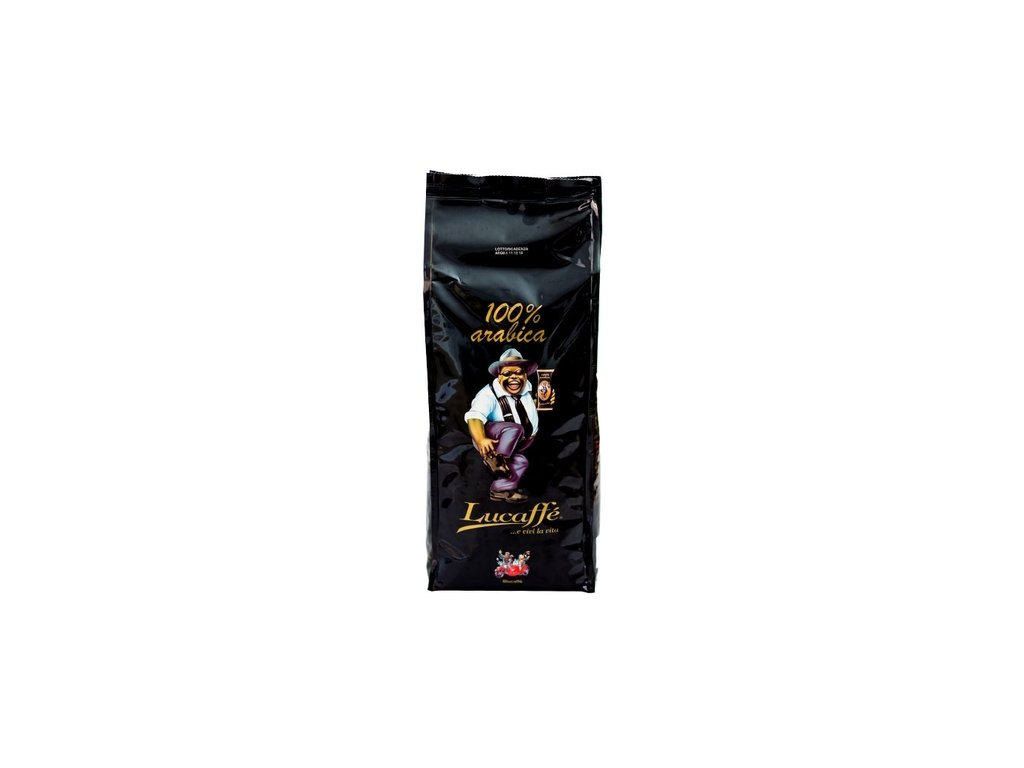 Lucaffe Mr. Exclusive 100% Arabica zrnková káva 1 kg