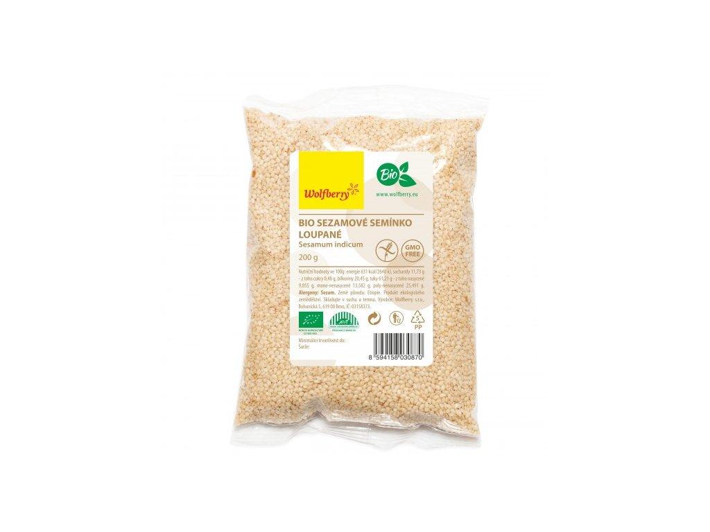 sezamove seminko loupane wolfberry bio 200 g