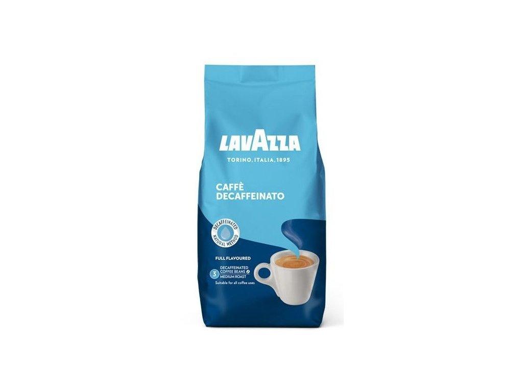 Lavazza Decaffeinato bez kofeinu zrnková káva 500 g