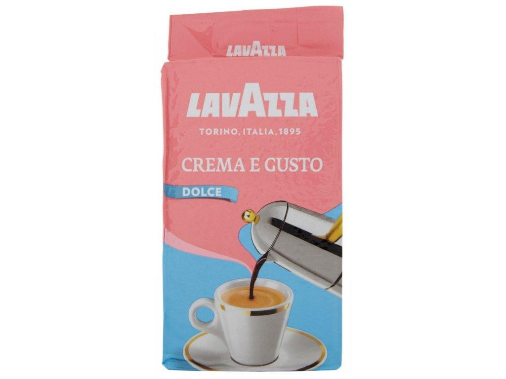 Lavazza Crema e Gusto Dolce mletá káva 250 g