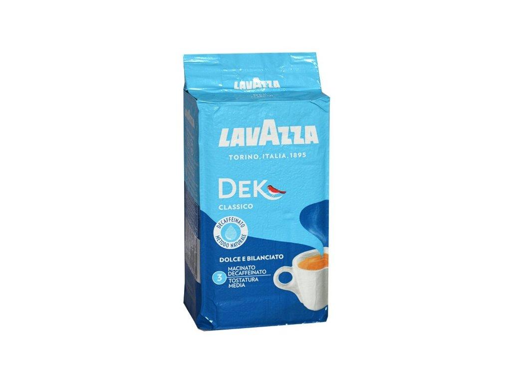 Lavazza Dek bez kofeinu mletá káva 250 g