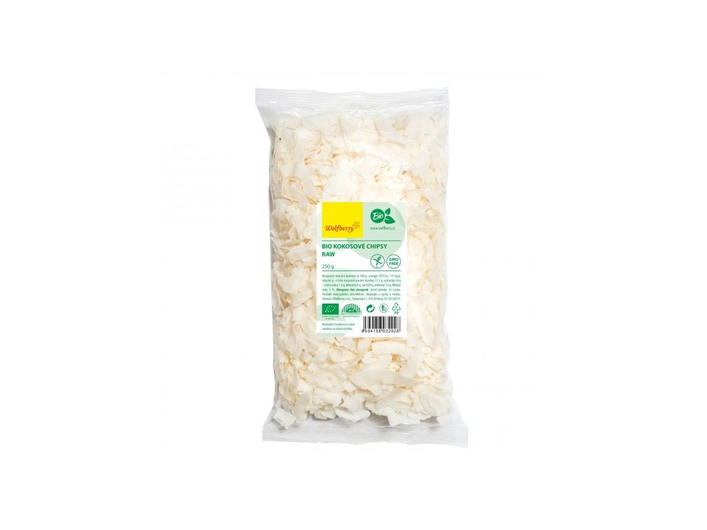 kokosove chipsy wolfberry bio 250 g