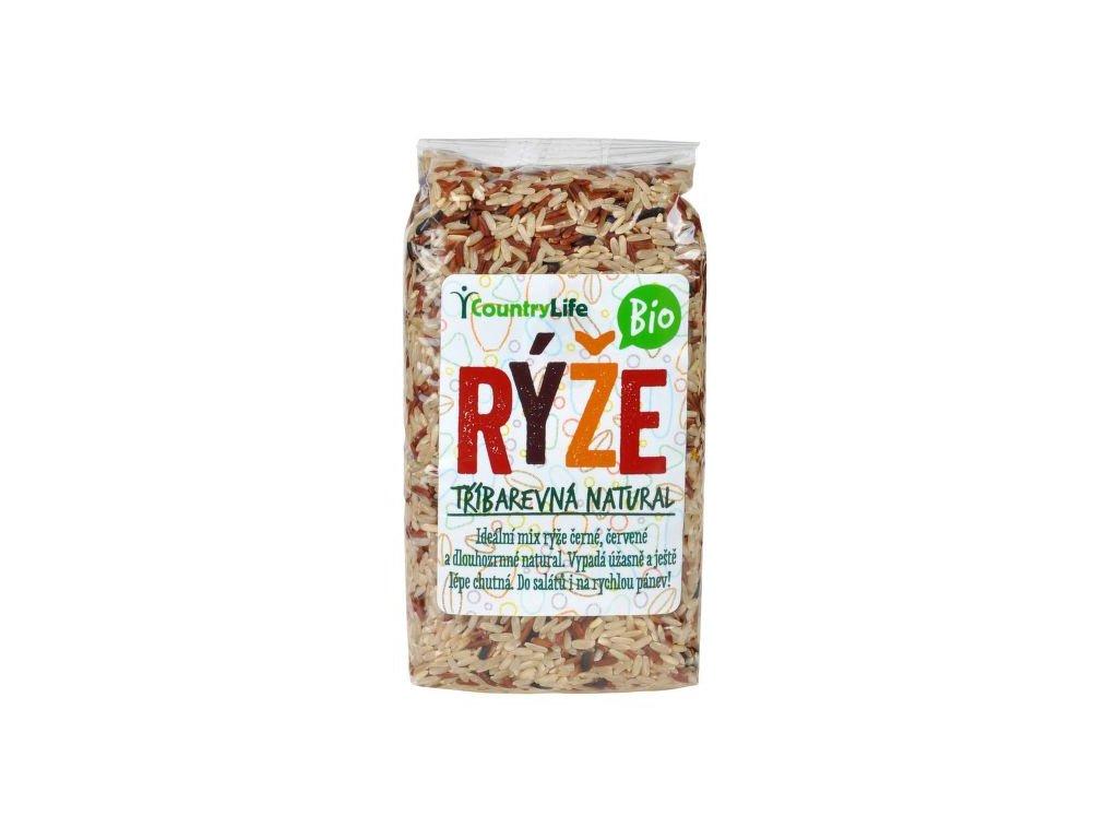 Rýže tříbarevná 500 g BIO COUNTRY LIFE