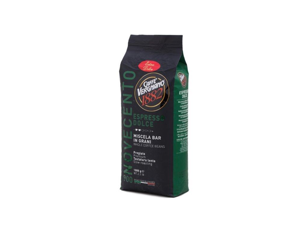 Vergnano Espresso dolce 900 zrnková káva 1 kg