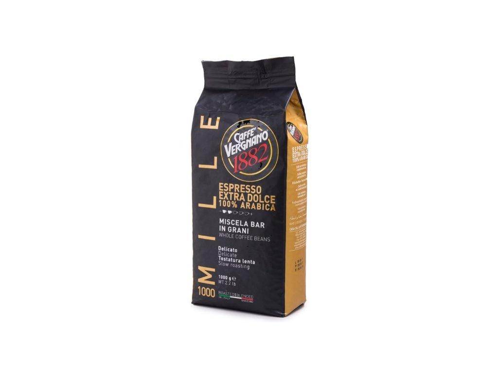Vergnano Espresso extra Dolce 1000 zrnková káva 1 kg
