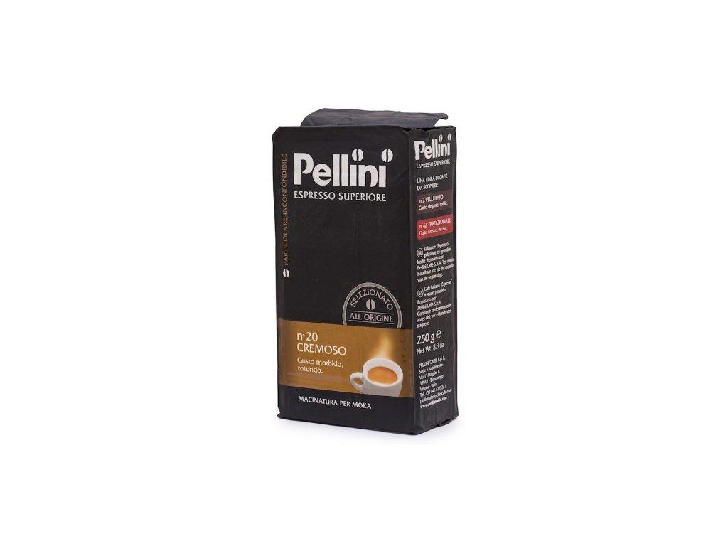 Pellini Caffé Espresso Superiore N°20 Cremoso mletá káva 250 g