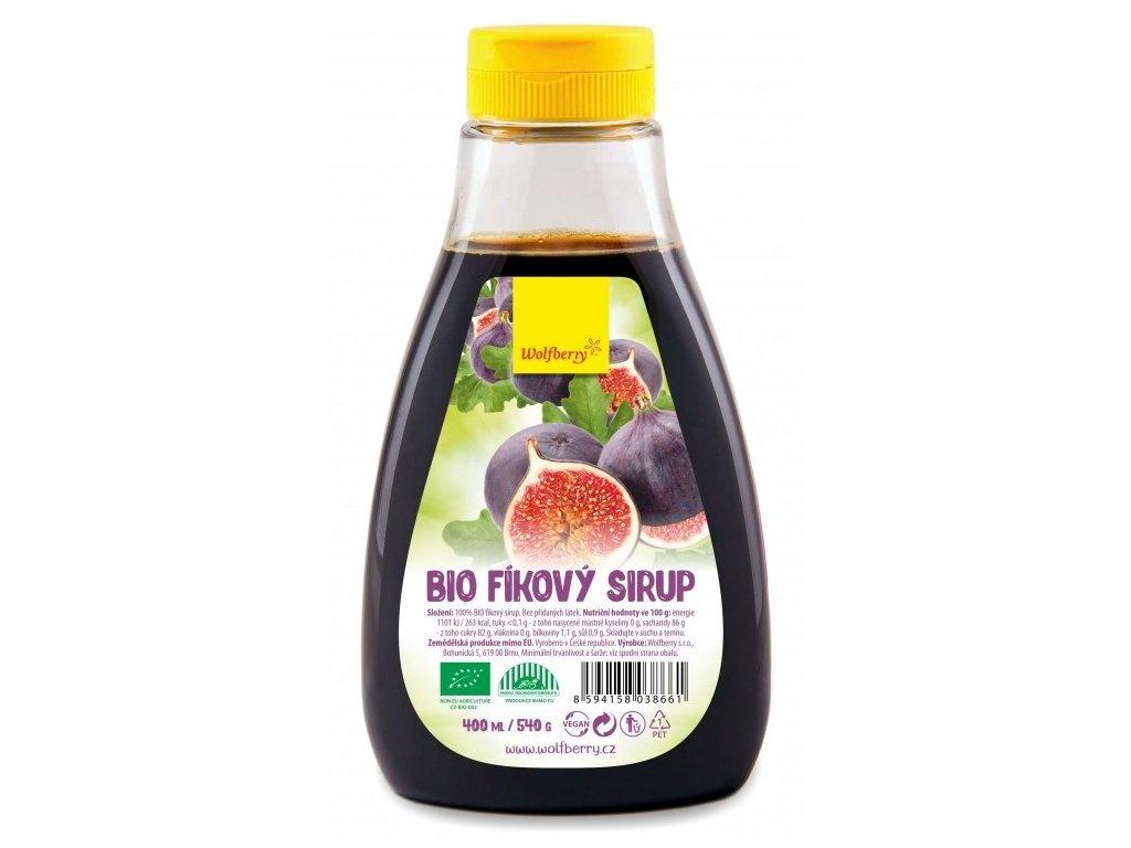 Fíkový sirup Wolfberry BIO 400 ml