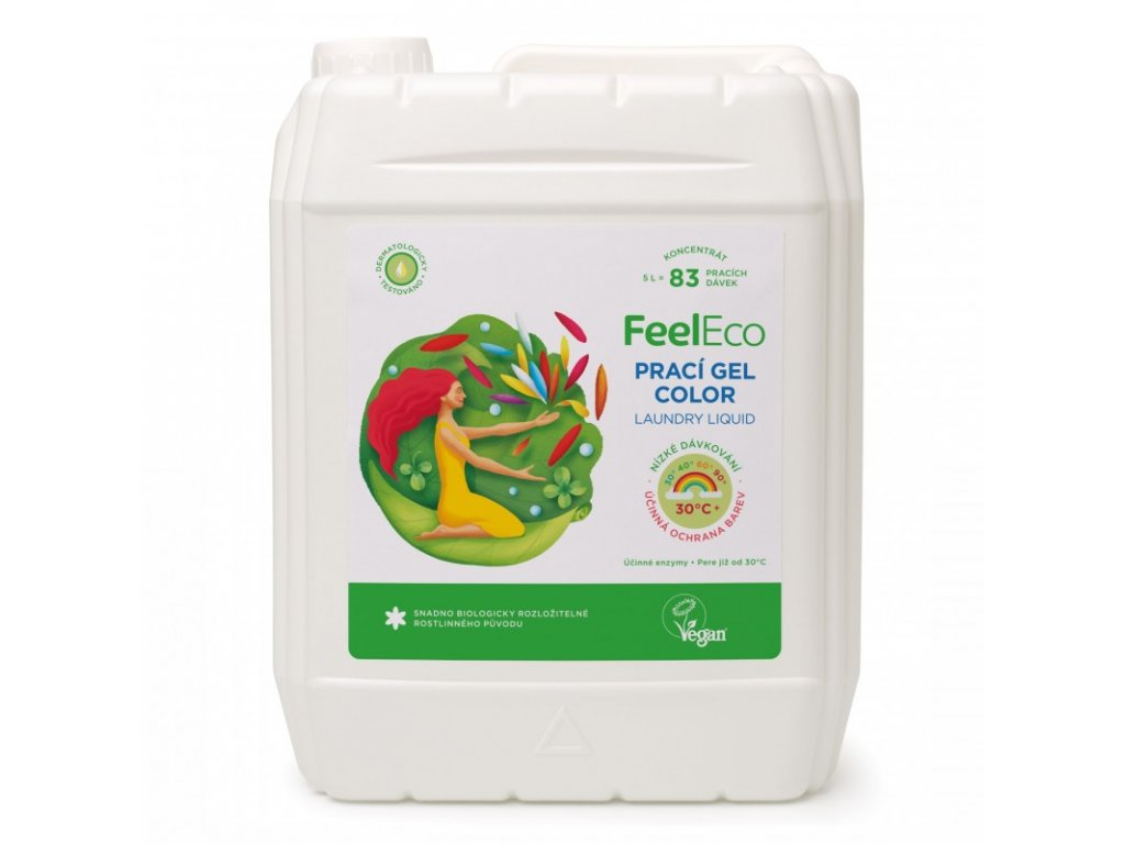 praci gel color feel eco 5 l 2