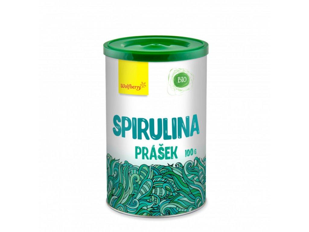 spirulina prasek bio 100 g wolfberry