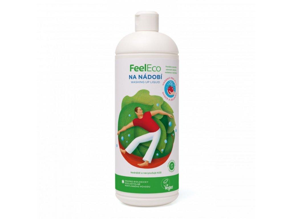 prostredek na nadobi vhodny k myti ovoce a zeleniny feel eco 1 l