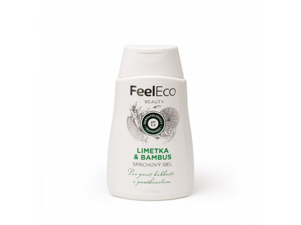 sprchovy gel limetka a bambus feel eco 300 ml