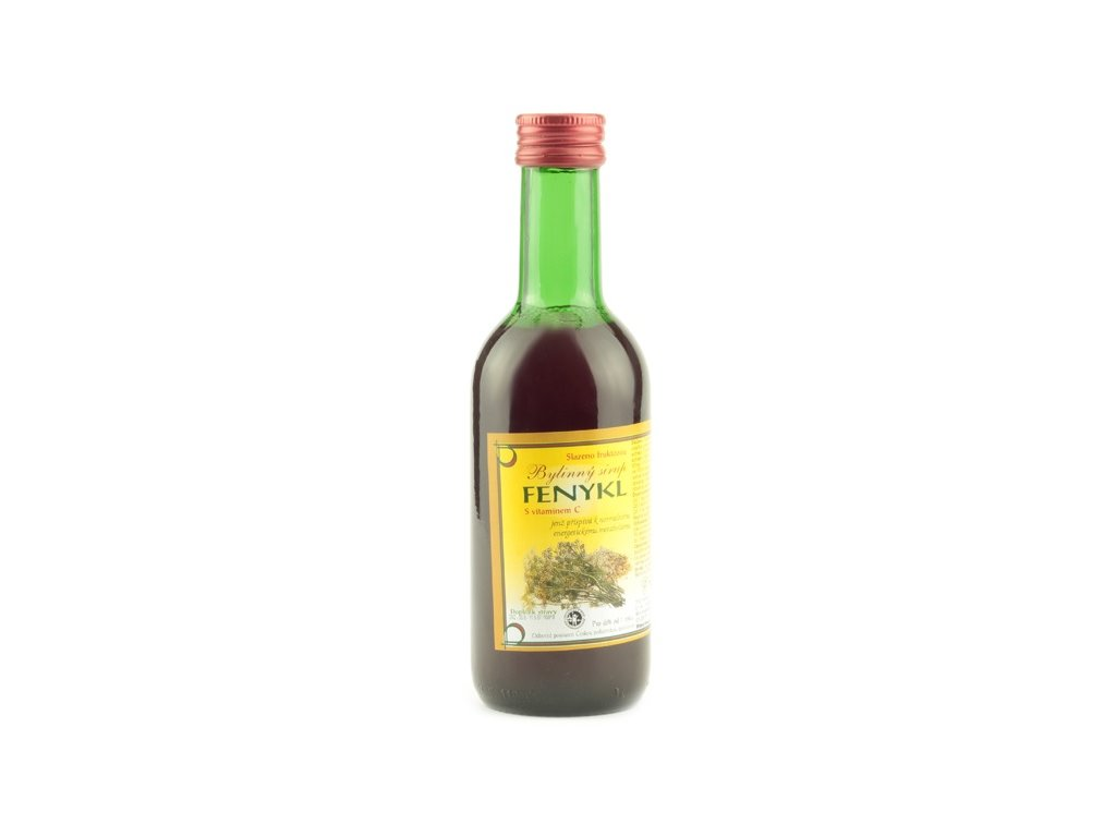 Bylinkový sirup Fenykl Klášterní officína 250 ml