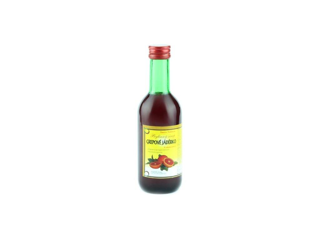 Bylinkový sirup Grepové jadérko Klášterní officína 250 ml