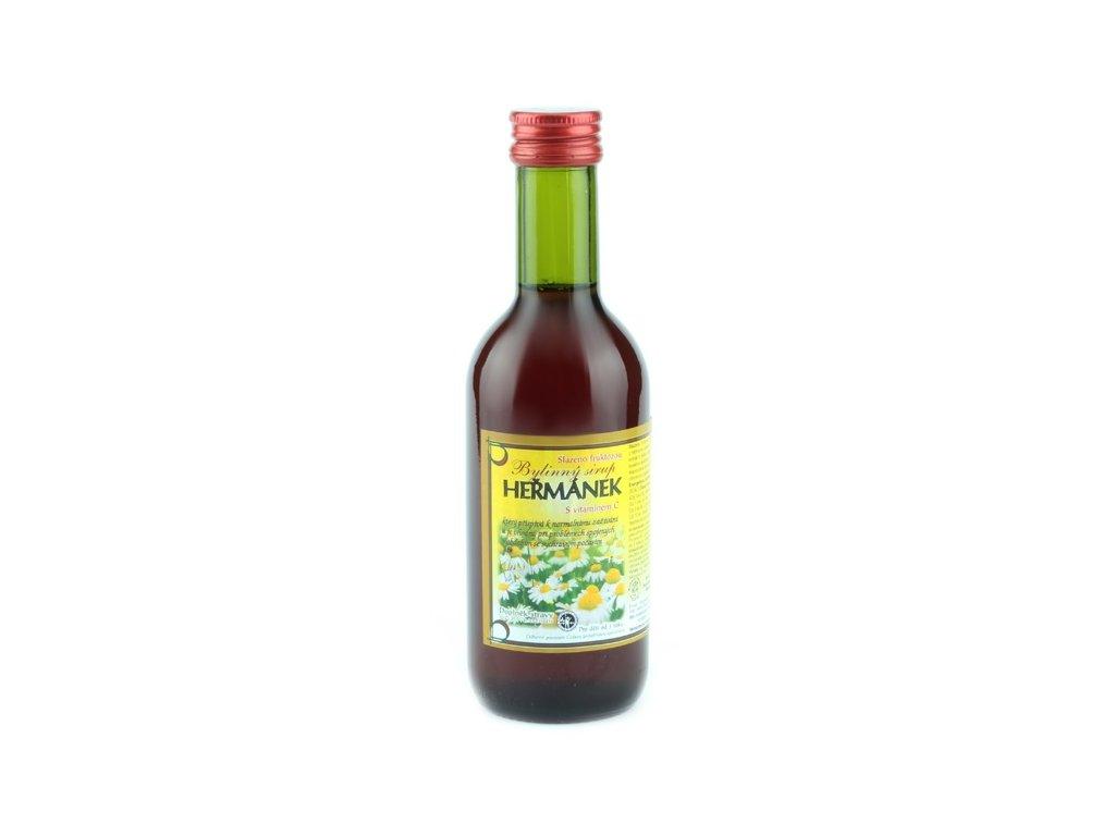 Bylinkový sirup Heřmánek Klášterní officína 250 ml